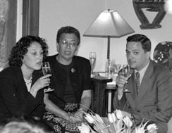 LaVerne Lane Prager (Center)